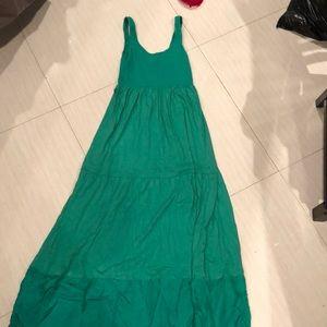 EUC Green Theory Maxi Dress